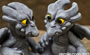 Gargoyle hatchlings